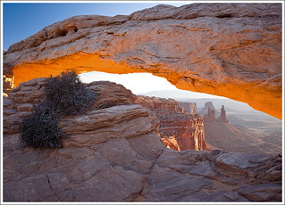 Mesa Arch Sunrise | by travelpix