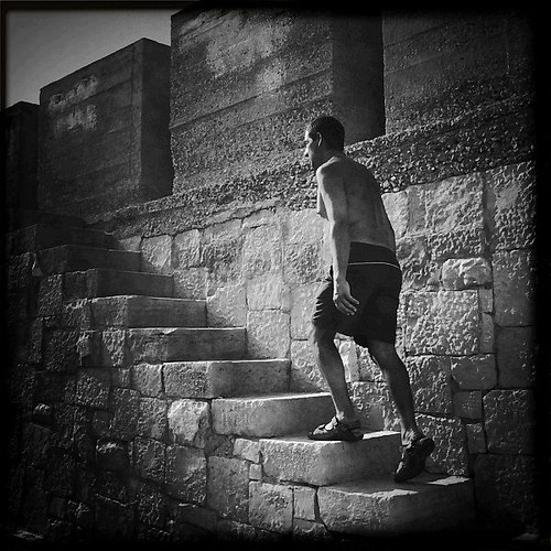 On the Stairs | by FDV iPhoneography