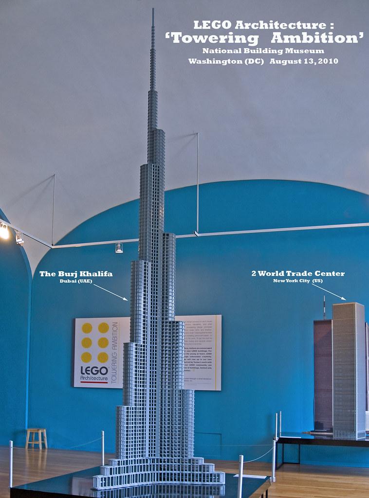 The Burj Khalifa Dubai Uae And 2 World Trade Center N