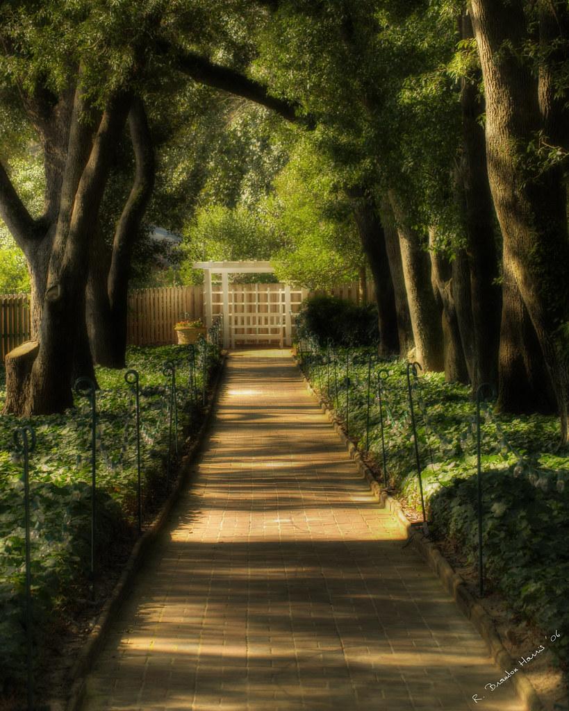 Hopeland Gardens Wrapped Behind A Serpentine Brick Wall