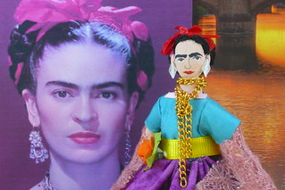 Frida Kahlo Miniature Art Character | by uneekdolldesigns