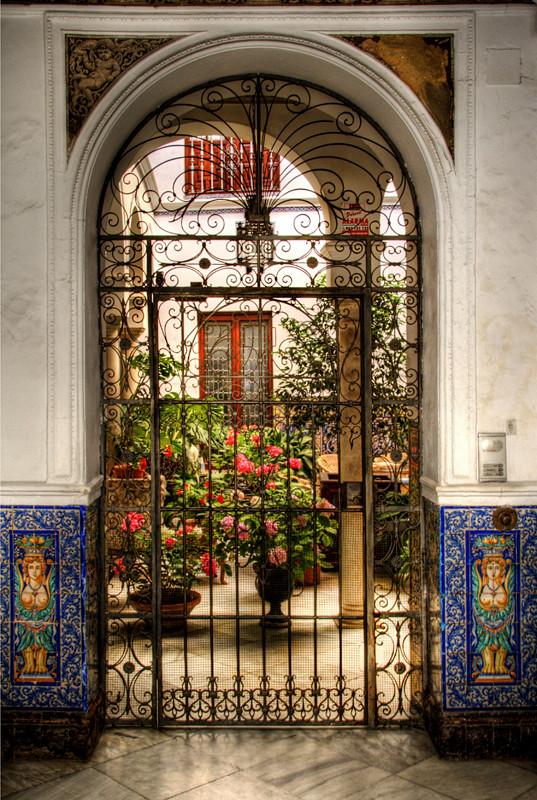Patio At Seville Patio De Sevilla Santa Cruz