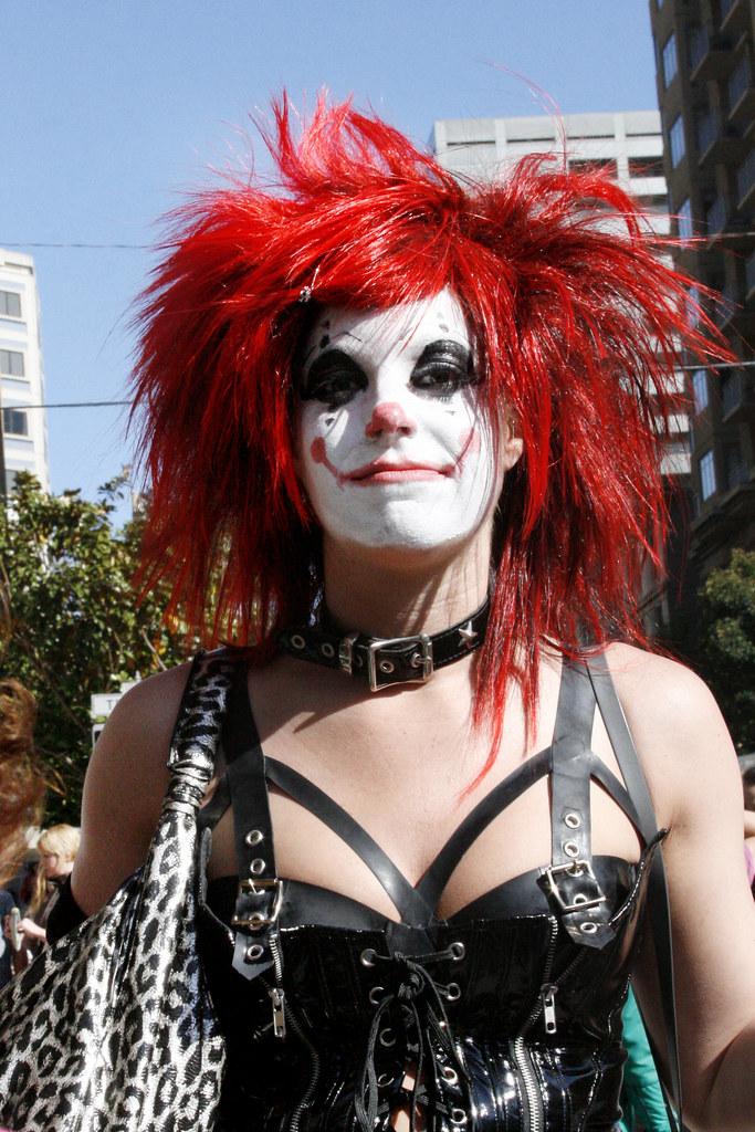 Punk Clown Shaireproductions Flickr