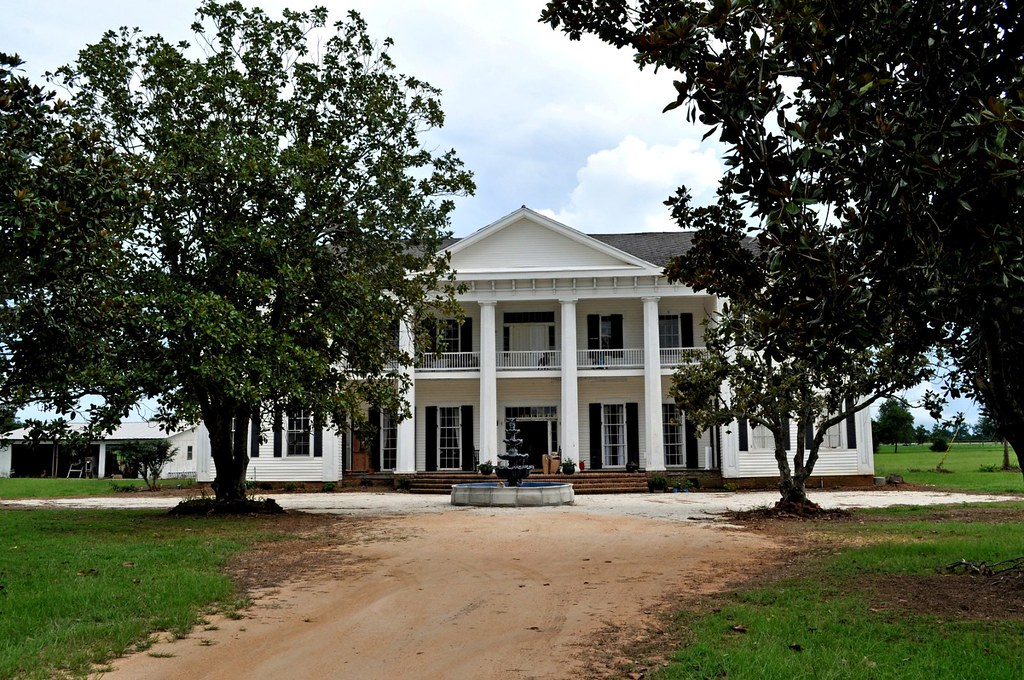 Uriah Al King Plantation House Ca 1860 For