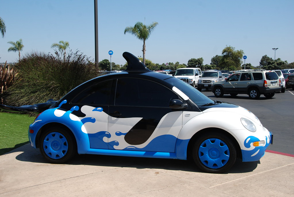 Sea World San Diego Ca Shamu Vw Beetle Navymailman Flickr