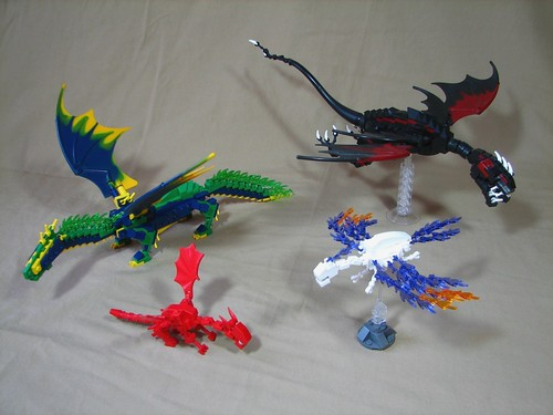 Dragons | Dragon display I took to BrickFair this year ...
