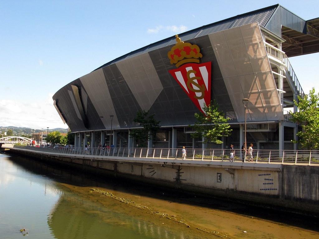 El nuevo estadio del sporting de gijon un molin n de pr flickr - Estadio del sporting de gijon ...