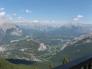 View from Sulphur Mountain | by susanvg