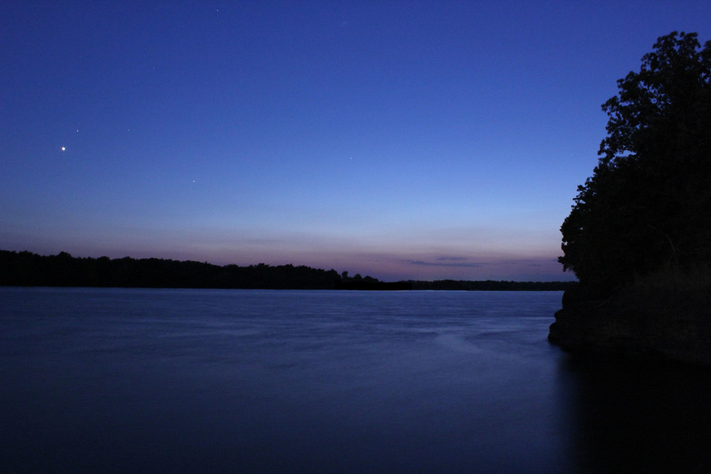 silent lucidity a calm night along the arkansas river afte flickr. Black Bedroom Furniture Sets. Home Design Ideas