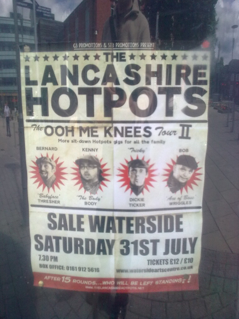 The Lancashire Hotpots Th Anniversary Tour  July