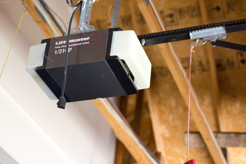 Liftmaster Garage Door Opener lift master 1/2 hp garage door opener | feel free to use thi… | flickr