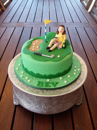 Mossys Masterpiece - Ladies Golf Cake  Bloody Pandora -1853