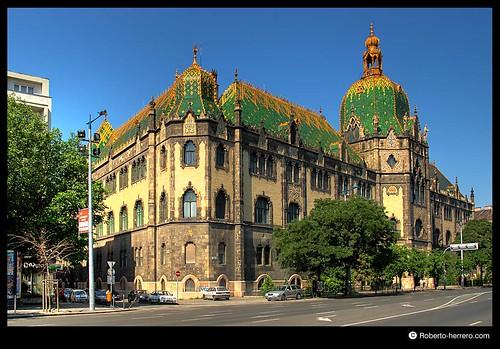 Applied arts museum budapest hungary roberto herrero - Roberto herrero ...