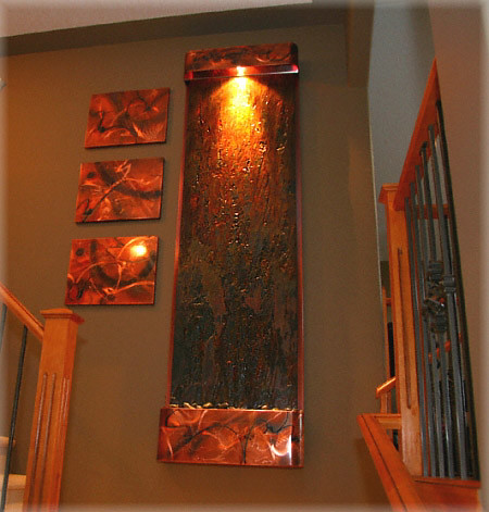 ... Exaltedfountains Indoor Wall Water Fountain Feature   Features /  Fountains | By Exaltedfountains