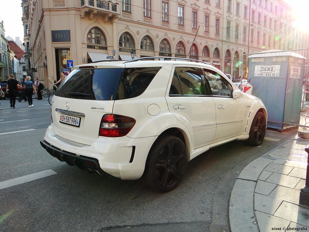 Mercedes Ml 63 Amg Munich 20 Aug 2010 Konstantinos Flickr