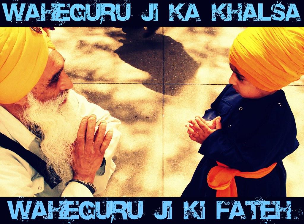 Waheguru Ji Ka khalsa Waheguru Ji Ki Fateh   Inderpreet ...