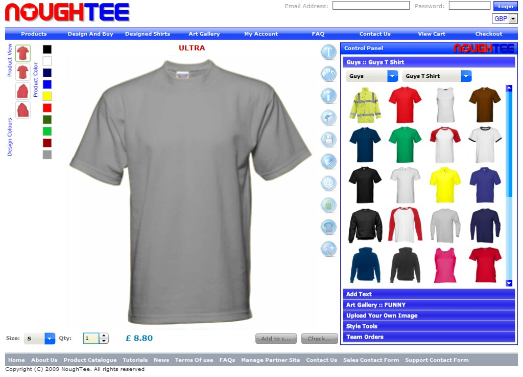 shirt making software