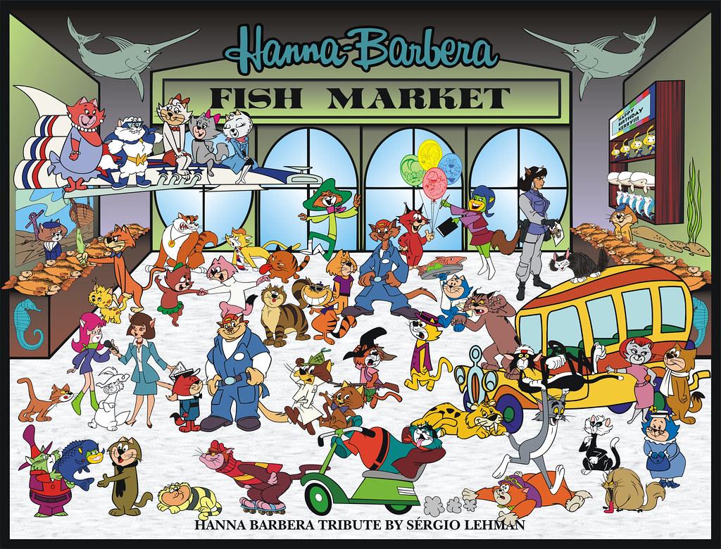 A Tribute to Hanna-Barbera Cartoon Cats, 2010   My friend ...