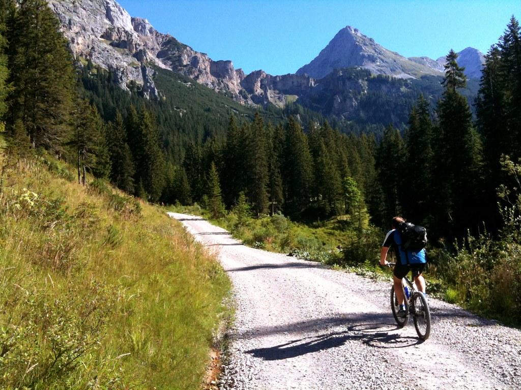 Mountain Bike Scharnitz To Achensee Austria Mountain Biki Flickr