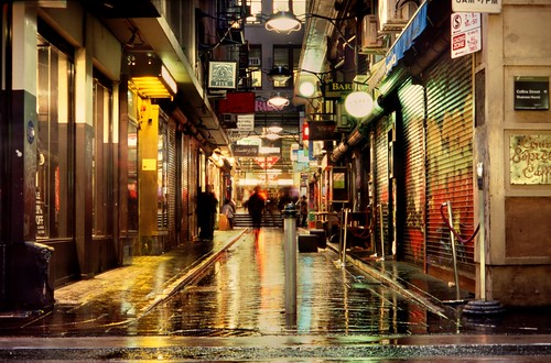 wanker lane, in the rain | by mugley