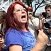 Angry woman - Restoring Honor rally