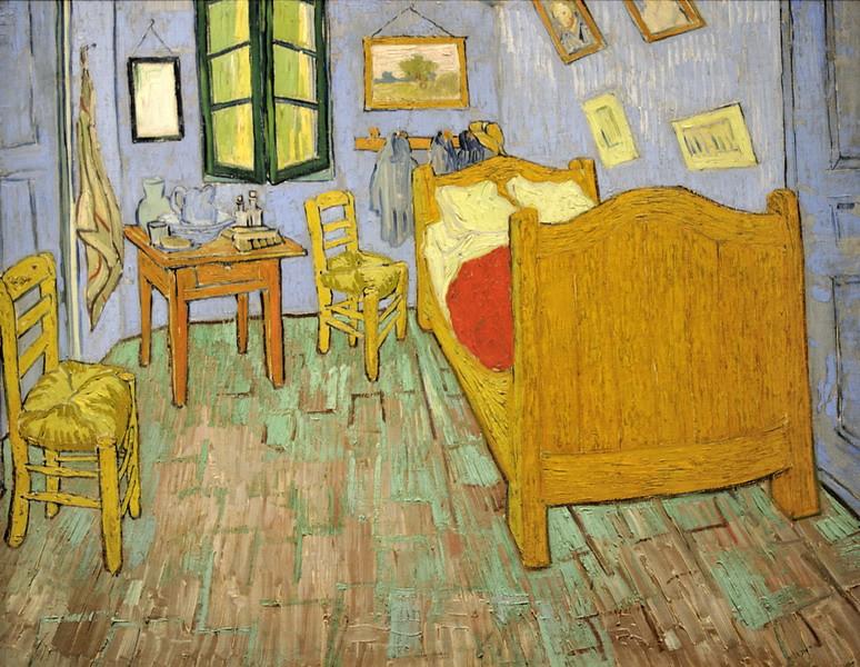 La chambre de Vincent a Arles septembre 1889 - 72×90cm - T… | Flickr