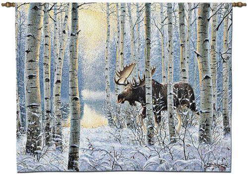 Moose Tapestry Wall Hanging At Wildlife Wonders Moose On