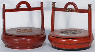 Antique Chinese Food Prep Tools