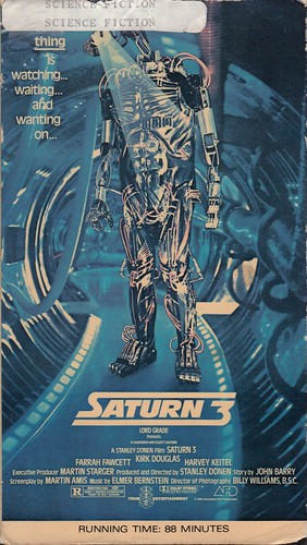 Saturn 3 (VHS Box Art) | by Aeron Alfrey