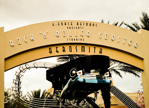 Aerosmith's Rock N Roller Coaster | by travelhyper