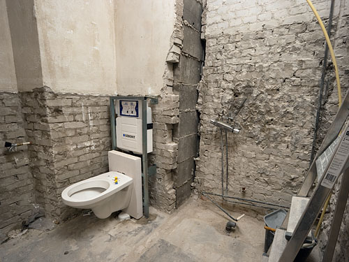 Badkamer verbouwing dag 1 ook werden de verouderde g flickr - Huis wastafel ...