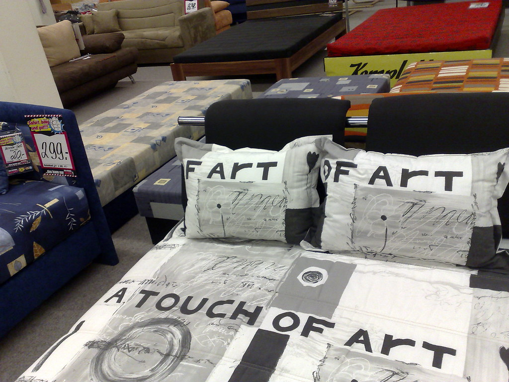 funny duvet cover bielefeld touch o f art 02 03 2009 flickr. Black Bedroom Furniture Sets. Home Design Ideas