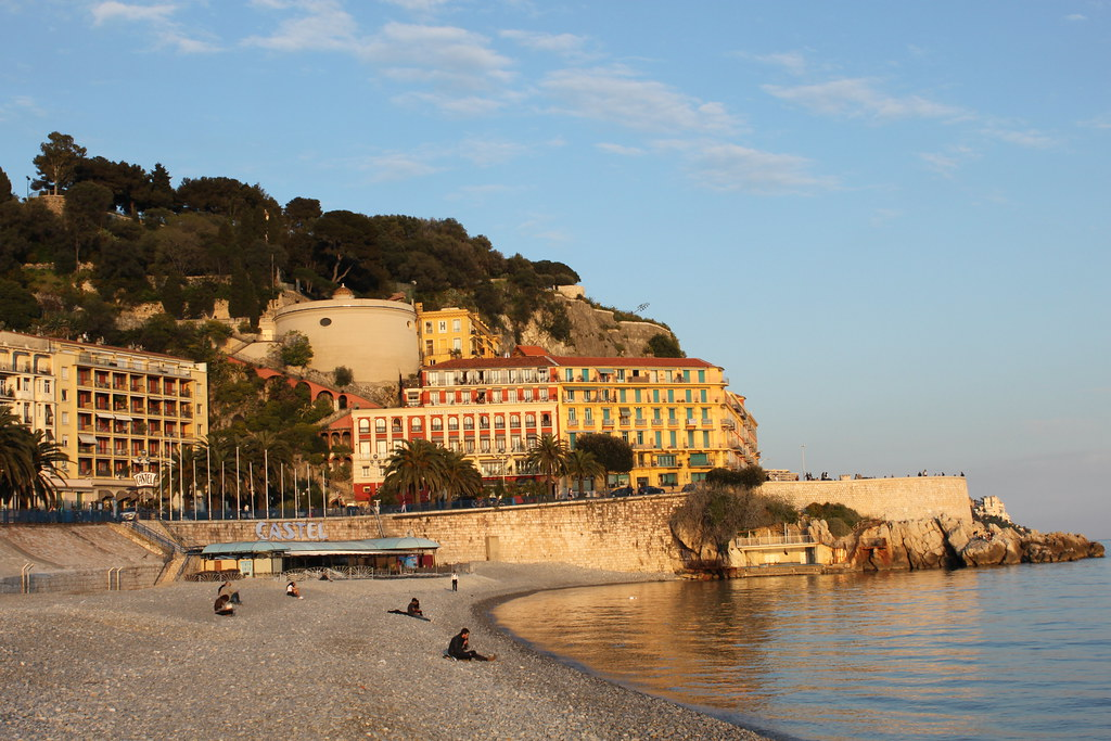 Sunset At Castle Hill In Nice France If You Go To The