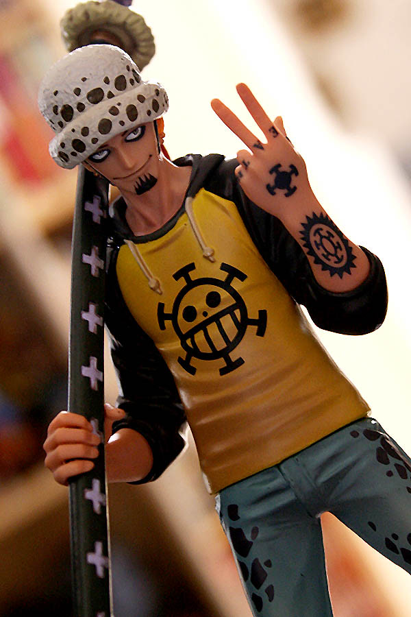 Grandlineman series 4 trafalgar law finally arrived for Trafalgar law tattoos