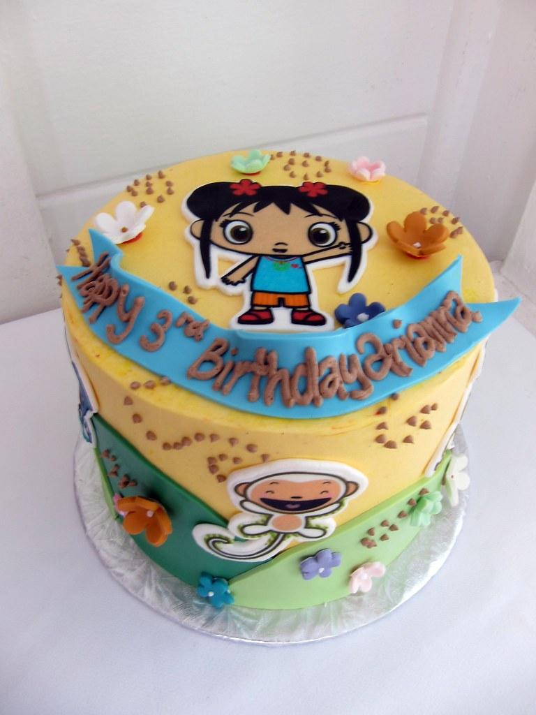 Ni Hao Kai Lan Birthday Cake Polkadots Olga Flickr