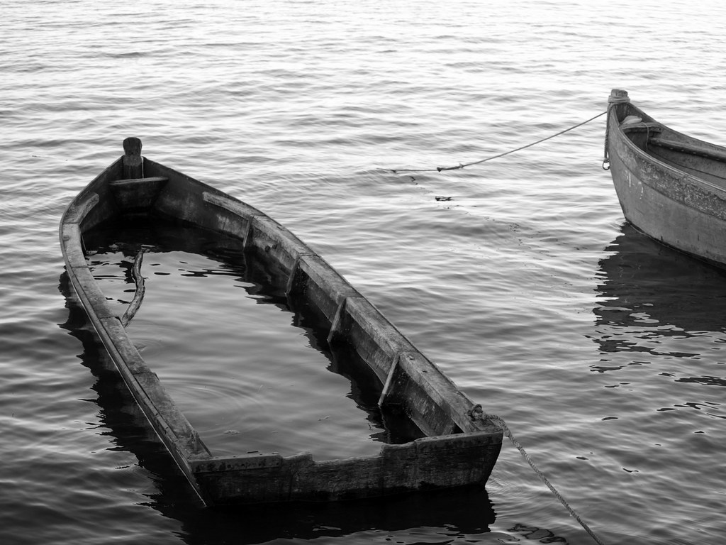 Some old boats while vacationing in juodkrante on the for What to do with an old boat