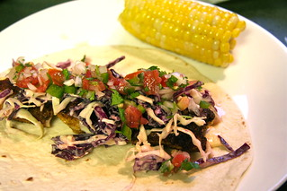 Homemade Blackened Catfish Taco with Corn - 189/365 | by lesley zellers