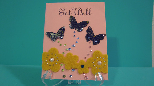 Get Well Butterfly Card | by Christine's Handmade Creations