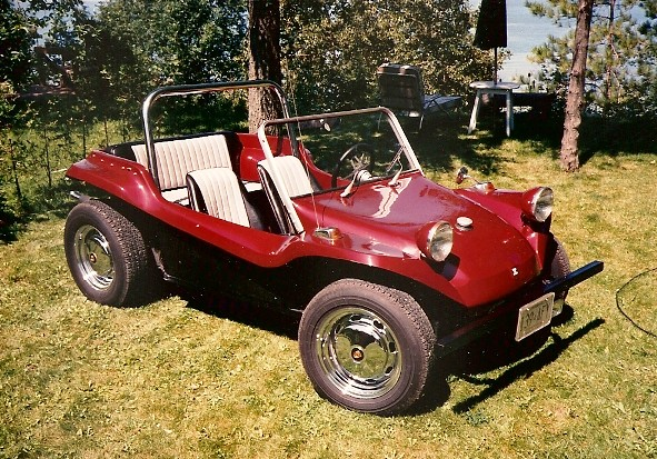 1966 Volkswagen Dune Buggy Built On A 1966 Vw Bug