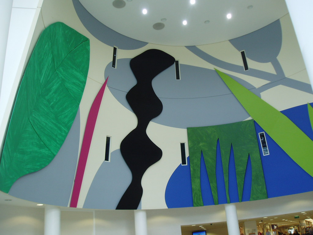 Atrium Mural University Hospital Walsgrave Coventry Flickr