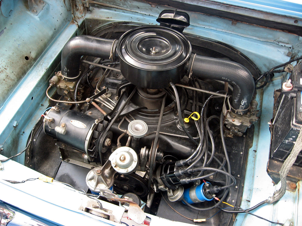 1960 chevrolet corvair 700 coupe engine | 140 cu. in. (2.3 l… | flickr