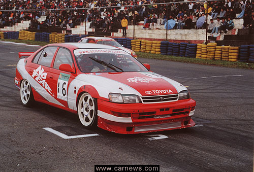Toyota Carina Btcc Touring Car Fitpaulcunningham15 Flickr
