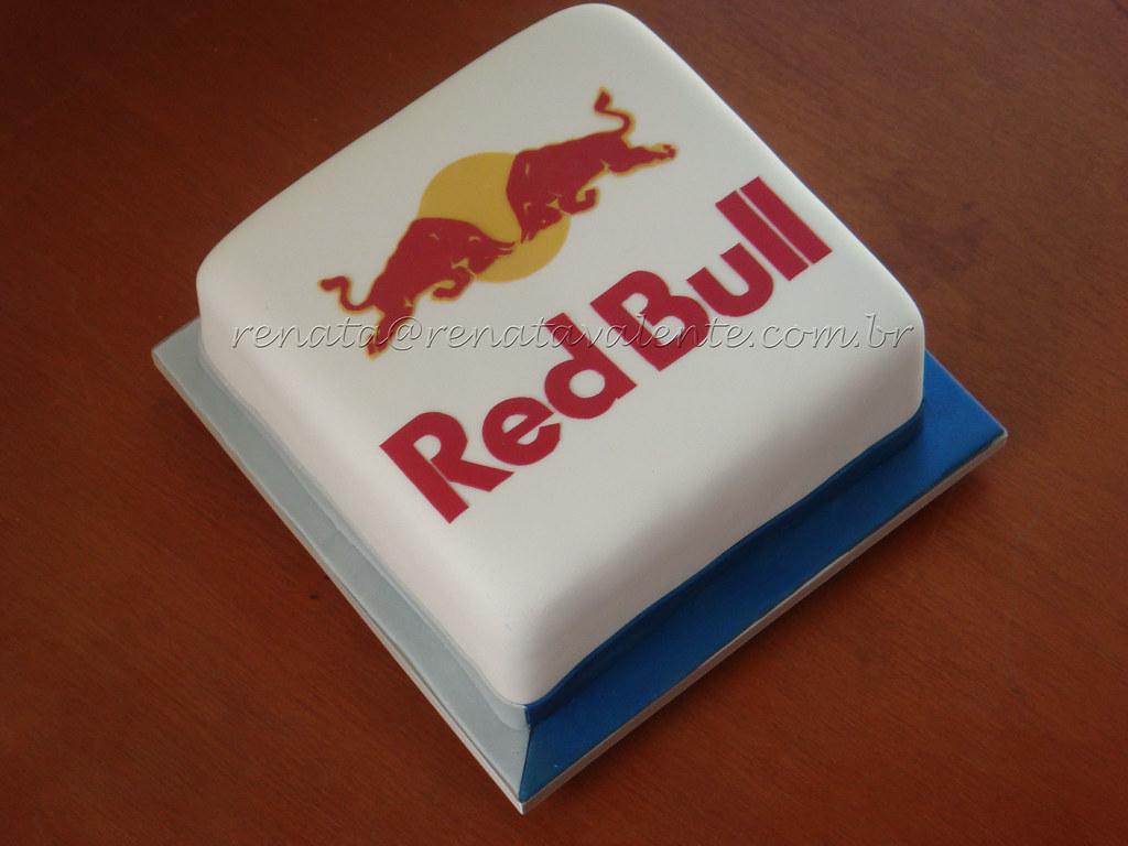 Red Bull Cake Ideas