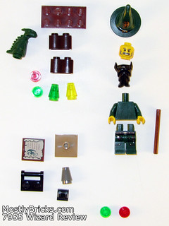 LEGO Kingdoms 7955 Wizard Review (2010) | by Mostly Bricks