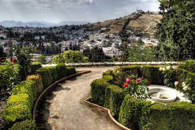 Generalife gardens. Alhambra, Granada. Jardines del Genera…  Flickr - Photo ...