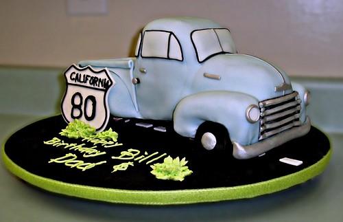Ford Birthday Cake