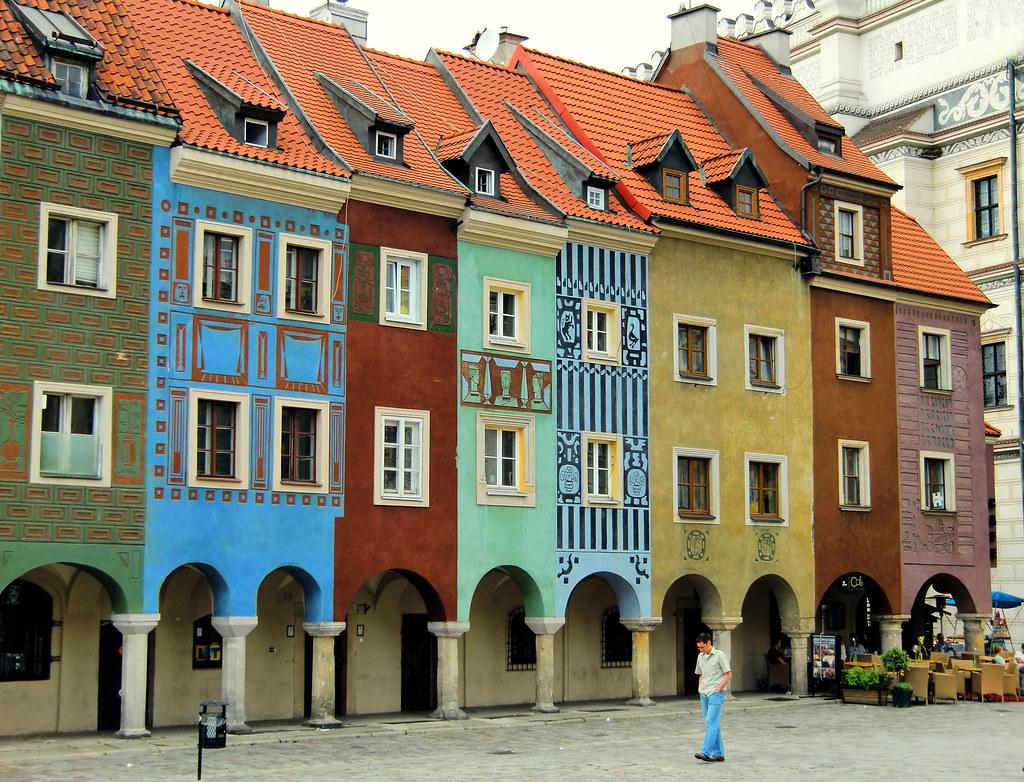 Merchants 39 Houses Poznan Poland They Are Unique