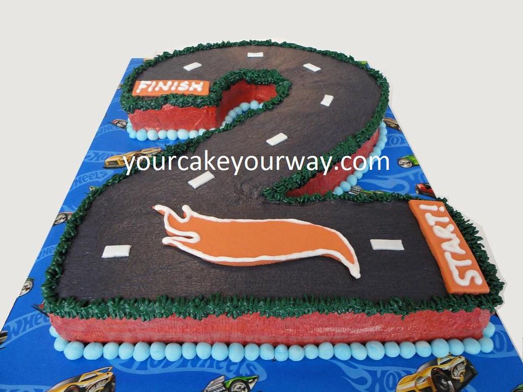 Hot Wheels Birthday Cake This Hot Wheels Birthday Cake Is Flickr