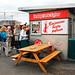 Famous Reykjavik hot dog stand