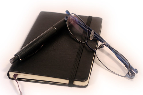 Pen, Diary and Glasses | by Generationbass.com
